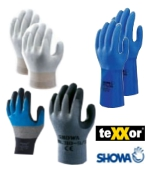 Gloves for work and protection