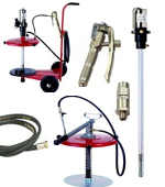 Grease pumps and accessories