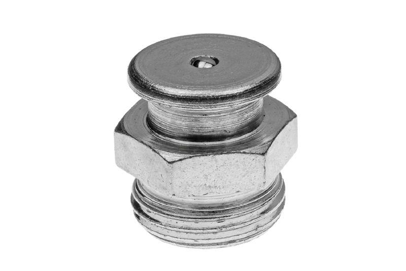 5 Stück DIN 3404 Ø10mm Flachschmiernippel Messing M8 x 1,0