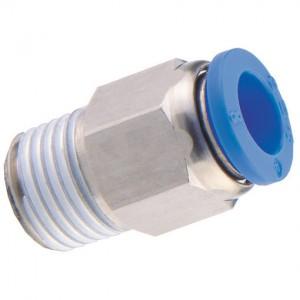 Schnellsteckverbinder Push In /… G 3//8 x 8mm 5 St/ück Steckverschraubung mit Innengewinde
