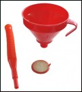 Funnel 160mm - with flexible spout