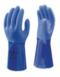 SHOWA 660 Cotton knit PVC coated Gloves - Oil Resistant